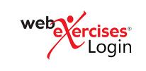 Web Exercises Login for Rehabilitation