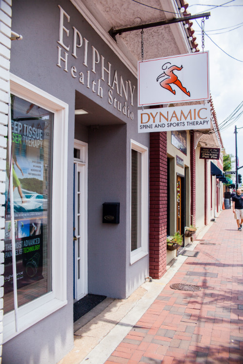 Marietta chiropractor Dynamic Spine and Sports Therapy on the square