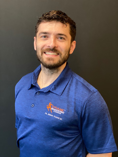 Dr. Jeremy Adams, chiropractor with Dynamic Spine and Sports Therapy